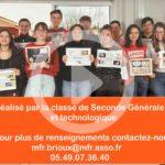 Présentation seconde générale et technologique MFR Brioux
